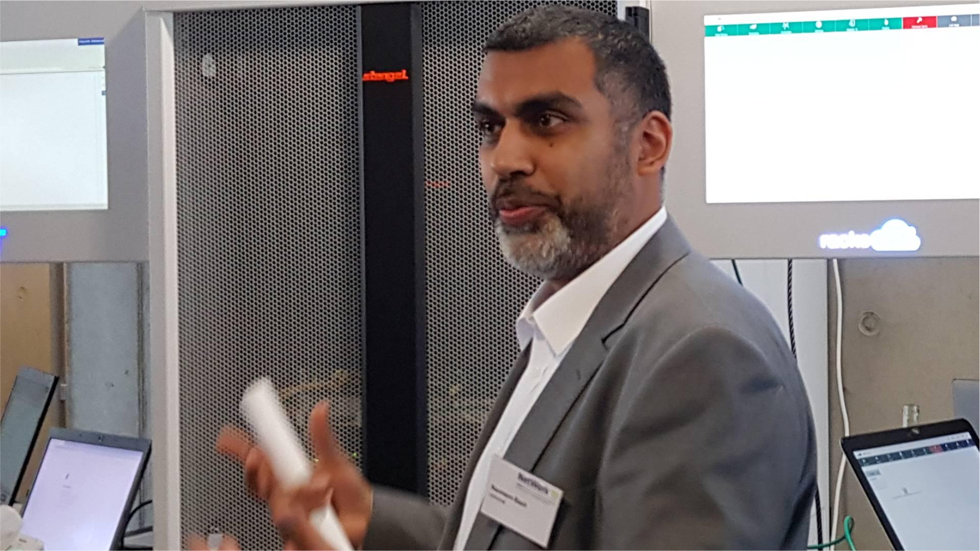 Techweek 2019 | racksnet® mit Keynote zu Open Networking